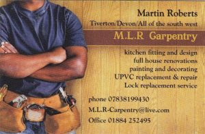Martin Roberts Carpentry