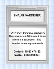 Shaun Gardener Double Glazing