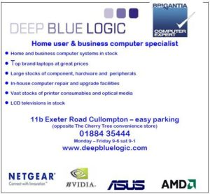 Deep Blue Logic advert