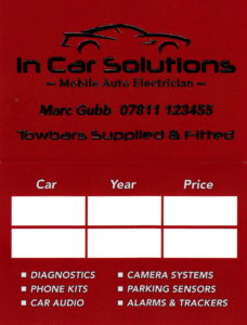 In Car Solutions