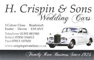 H Crispin & Sons Wedding Cars